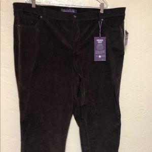 Gloria Vanderbilt Brown Jeans Size 24W